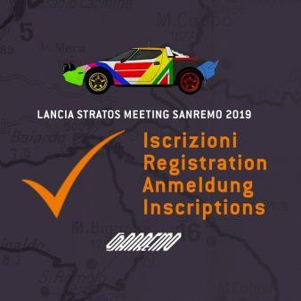 Registration image Lancia Stratos Sanremo